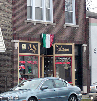Café Palermo in Berwyn, Illinois