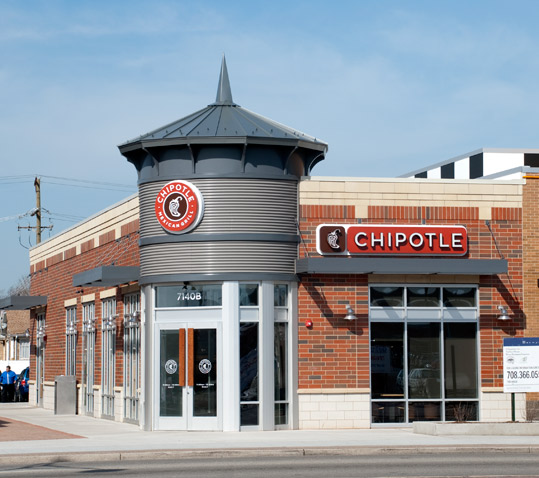 Chipotle in Berwyn, Illinois