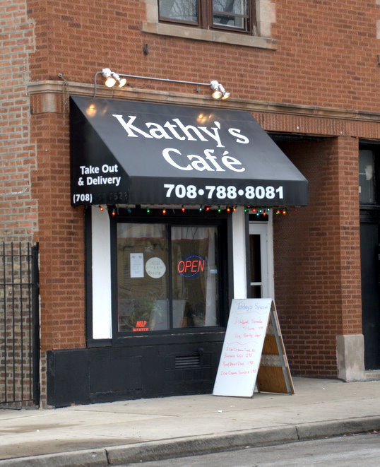 Kathy's Café in Berwyn, Illinois