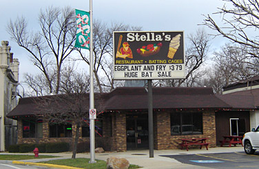 Lyons Illinois Map.Stella S Fast Food Restaurant In Lyons Il Photo Address Map And